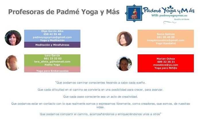 Cartel Horario 2017-18 profesoras