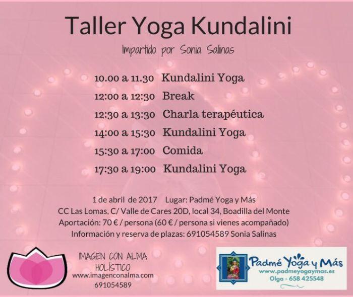 Taller Yoga Kundalini