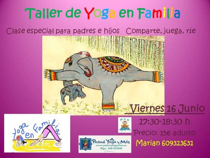 Taller de Yoga en Familia