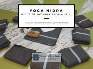 Yoga Nidra 27 de octubre