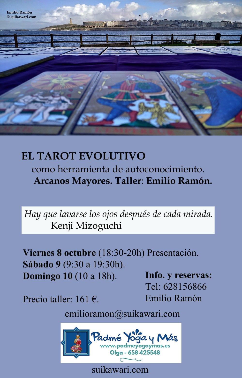 El Tarot Evolutivo como herramienta de autoconocimiento.